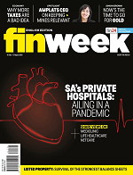 Cover of finweeks July August edition featuring article by Andrew Andrew Duvenage, Managing Director of NFB Private Wealth Management