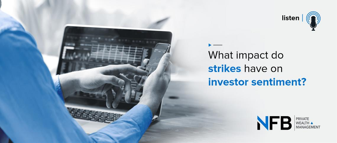 What impact do strikes have on investor sentiment?